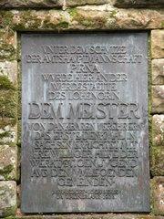 Wagner-Denkmal_3 - Richard Wagner, Denkmal, Oper, Lohengrin, Sächsische Schweiz, Pirna, Liebethaler Grund