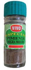 Pfeffer - Pfeffer, schwarz, gemahlen, Gewürz, essen, würzen, scharf, pimienta, negra, Lebensmittel, spanisch, Spanien