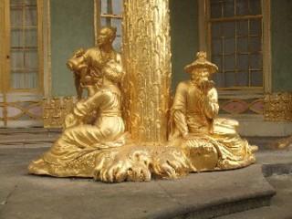 Skulpturen Chinesisches Haus Potsdam - Chinesisches Haus, Potsdam, Berlin, Architektur, Teehaus, Gartenhaus, Skulptur