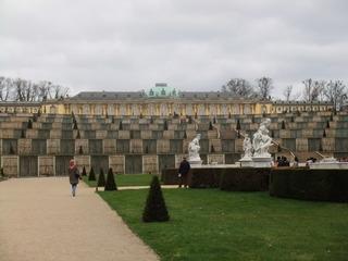Schloss Sanssouci - Berlin, Potsdam, Sanssouci, Schloss, Architektur, Preußen, Friedrich II