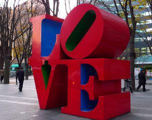 LOVE - Skulptur, love, modern art, pop, pop-kultur
