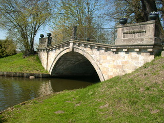 Wolfsbrücke im Wörlitzer Park 1 - Brücke, Architektur, Steinbrücke, Bogenbrücke