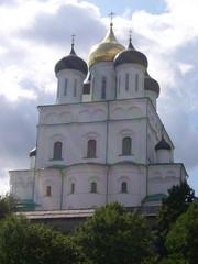 Dreifaltigkeits-Kathedrale in Pskov (RUS) - Dreifaltigkeits-Kathedrale, Kirche, Russland, Pskov, Pskow, Kathedrale, Religion, Bauwerke, Gotteshaus, Architektur