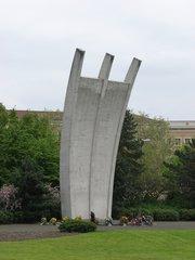 Berlin - Denkmal der Luftbrücke #2 - Luftbrücke, Berlin, Geschichte, Denkmal, Berlinblockade