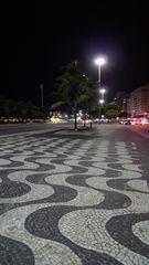 Pflaster der Copacabana #1 - Rio de Janeiro, Rio, Brasilien, Copacabana, Mosaik, Pflaster