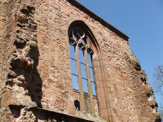 Gotisches Spitzbogenfenster - Gotik, Spitzbogen, Fenster, Architektur, Kloster, Kirche