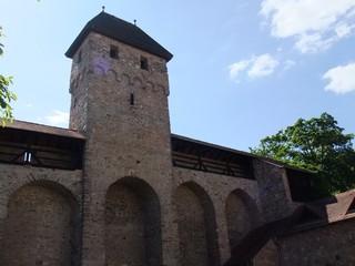 Mittelalterliche Stadtmauer #1 - Stadtmauer, Befestigung, Verteidigung, Mittelalter, Architektur