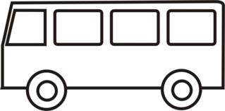 Bus - Bus, Kleinbus, Schulbus, Anlaut B, Schülertransport