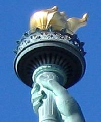 Was_ist_das#Bauwerke - Freiheitsstatue, Statue of Liberty, Fackel, Rätselbild, New York