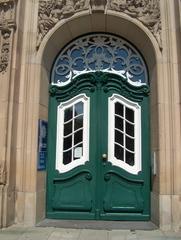 Tür - Norddeutsche Haustür, Eingang, Eingangstür, Türbogen, Haustür