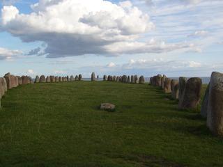 Ales Stenar - Ystad, Ales stenar, Wikinger, Schweden, Steinkreis, Architektur