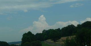 Cumulus Nimbus - Wolken, Cumulus nimbus, Wolkenform, Wetter, aufquellen, Niederschlag, Cumulus nimbus pileus