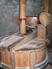 """Holländermühle """"De Onderneming"""" von 1860 in Wissenkerke, Zeeland/NL #5 - Mühle, Holländermühle, Galeriemühle, mahlen, Korn, Kornmühle, Mehl, Mahlstein, Galerie, Flügel, Wind, Getreide, Energie, Niederlande, Holland"""