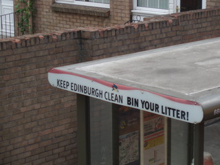 Keep Edinburgh clean! - Litter, Bin, Clean, Müll