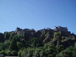 Edinburgh Castle - Edinburgh, Castle, Schloss, Park