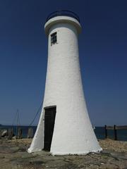 Leuchtturm - Leuchtturm, Hafen, Meer, Ostsee, Mommark, Dänemark, Leuchtturm, Warnsignal, Meer, Seefahrt, Licht, Navigation, Schiffe, Insel, Küste leuchten, warnen, Sicherheit, Signal, Seezeichen, Kennung, weiß