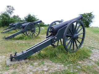Kanone 1 - Geschichte, 1864, Deutsch-dänischer Krieg, Schlacht an den Düppeler Schanzen, Schusswaffe