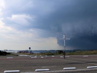 Gewitter im Anmarsch - Gewitter, Unwetter, Wetter, Wolken, Regen, schwarz
