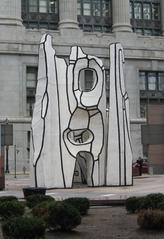Chicago Dubuffet - Chicago, Sehenswürdigkeiten, Kunst, Skulptur, Dubuffet