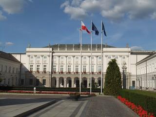 Warschau #1 - Warschau, Polen, Architektur, Politik, Präsidentenpalast