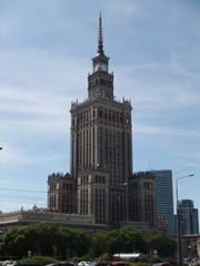 Warschau #6 - Warschau, Polen, Architektur, Kulturpalast, Wissenschaftspalast, Wolkenkratzer, Wahrzeichen