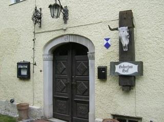 Eingangstür - Eingangstür, Haustür, alt, Holz, Ornamente, Türklinke, Rost