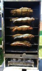 Räucherofen für Forellen - Fisch, Forelle, Räuchererei, haltbar machen, Fischräucherei, Raubfisch