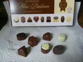 Belgische Pralinen - Pralinen, Süßigkeiten, Belgien, Confiserie, Schokolade