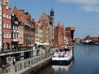 Danzig #2 - Danzig, Polen, Stadt, Stadtentwicklung, Städtebau, Krantor, Stadttor, Kran, Architektur