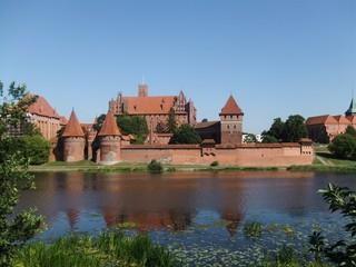 Marienburg #1 - Marienburg, Malbork, Polen, Ordensburg, Deutscher Orden, Mittelalter, Ritter, Burg, Burganlage, Backsteinbau, Architektur, Kloster, Klosteranlage