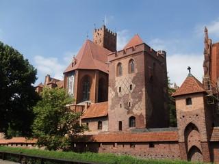 Marienburg #4 - Marienburg, Malbork, Polen, Ordensburg, Deutscher Orden, Mittelalter, Ritter, Burg, Burganlage, Backsteinbau, Architektur, Kloster, Klosteranlage