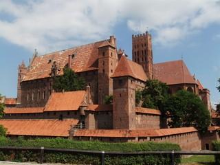 Marienburg #5 - Marienburg, Malbork, Polen, Ordensburg, Deutscher Orden, Mittelalter, Ritter, Burg, Burganlage, Backsteinbau, Architektur, Kloster, Klosteranlage