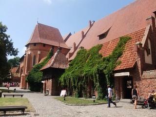 Marienburg #6 - Marienburg, Malbork, Polen, Ordensburg, Deutscher Orden, Mittelalter, Ritter, Burg, Burganlage, Backsteinbau, Architektur, Kloster, Klosteranlage