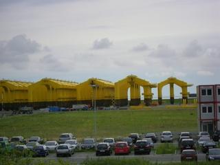 Windradanlage #2 - Windrad, Windkraft, Windkraftanlage, Offshore, Cuxhaven, Alternative Energie, Regenerative Energie, Strom, Stromerzeugung, Fundamente, Nordsee, Windpark, Windenergie