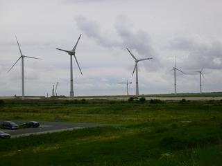 Windräder - Windrad, Windkraft, Windkraftanlage, Cuxhaven, Alternative Energie, Regenerative Energie, Strom, Stromerzeugung, Nordsee, Windpark