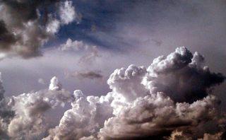 Wolkenformation - Wetter, Himmel, Wolken, Sonne, Regenwolke, Wolke, Regen, Gewitter