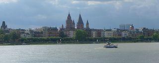 Mainz - Skyline  - Mainz, Rhein, Dom