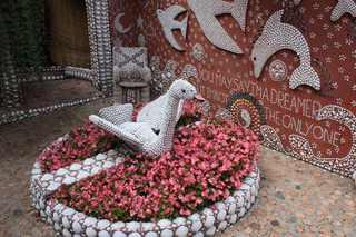 Muschelgarten #1 - Garten, Muschel, Kunst