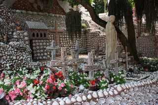 Muschelgarten #2 - Muschel, Garten, Kunst