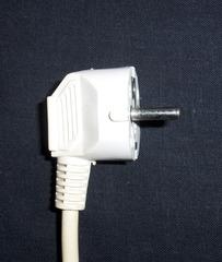 Schutzkontaktstecker  #1 - Schutzkontaktstecker, Stecker, Strom, Elektrizität, SchuKo