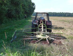 Heuwender #2 - Landmaschine, Heu, Heuwender, Heuwendemaschine, Kreiselwender, Zettkreisel