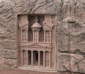 Schatzhaus von Petra - Petra, Jordanien, Weltkulturerbe, Altertum, Geschichte, Felsenstadt, Kulturdenkmal, Sandstein, UNESCO, Antike