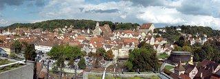 Altstadtkulisse Schwäbisch Hall - Altstadt, Fachwerk, Kleinstadt, Baden-Württemberg
