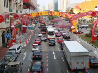 Singapore_Chinatown 3 - Geografie, Länder, Metropolen, Südostasien, Stadtstaaten, Singapore, Singapur, Verkehr, Chinatown