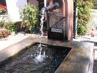 Brunnen - Brunnen, Wassergewinnung, Grundwasser, Wasserzulauf, Wasserförderung, Zierbrunnen