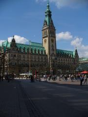 Hamburger Rathaus - Rathaus, Hansestadt, Hamburg, Rathausmarkt, Sitz von Senat und Bürgerschaft, Gotik, Barock und Rennaissance
