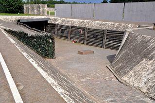 KZ Sachsenhausen - KZ, Konzentrationslager, Lager, Häftling, Tod, erschießen, hinrichten, Hinrichtung, Sachsenhausen, Gedenkstätte, Gedenken, Nazidiktatur, Slogan, Spruch, Tor, Hohn, Verhöhnung, Gefangener, Gefangene, Arbeit, frei, gefangen