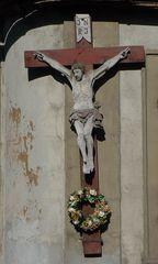 Christusfigur - Jesus, Christus, Kreuz, Plastik, Kruzifix, Religion, Symbol, Kreuzigung, Christentum, INRI, Kreuz