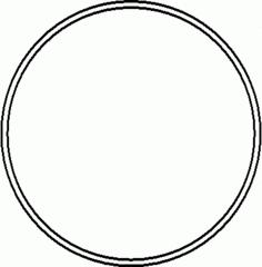 Reifen - Reifen, Sportgerät, Sport, rollen, turnen, Sportgymnastik, Kreis, Umfang, Fläche, Radius, Durchmesser, Mathematik