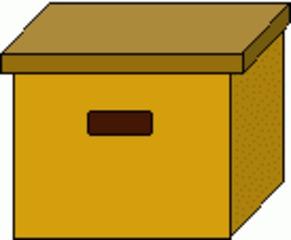 Turnkasten klein - Turnkasten, Hocker, Sport, Sportgerät, turnen, Quader, Volumen, Oberfläche, Körper, Mathematik